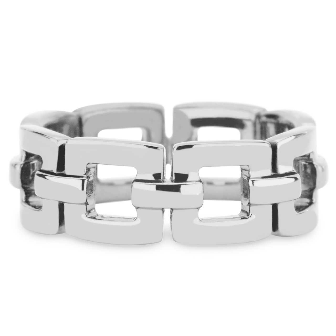 Mens Marcello Band in 14k White Gold by GiGi Ferranti
