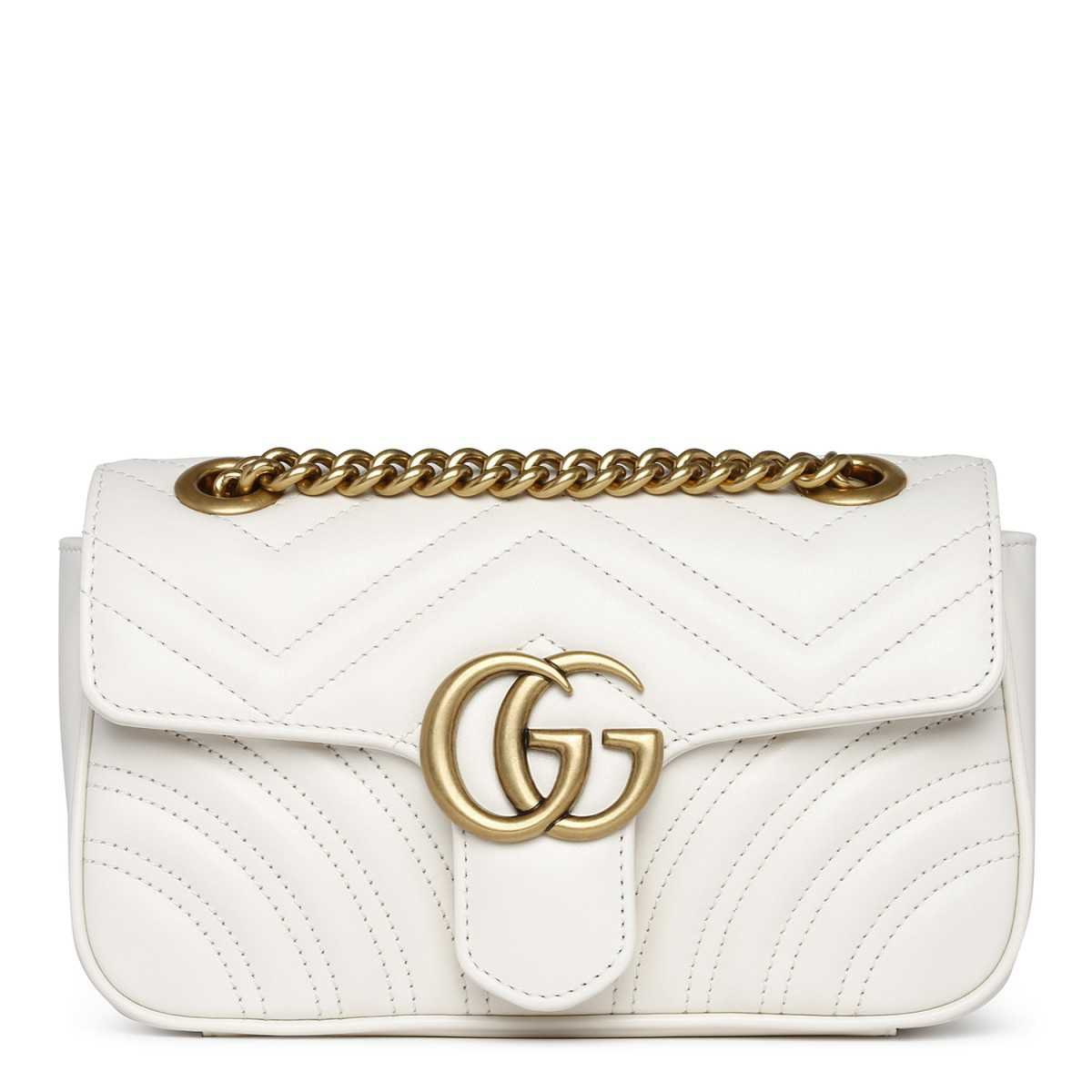 high quality sale uk best place for White Gucci Bag | ShopLook