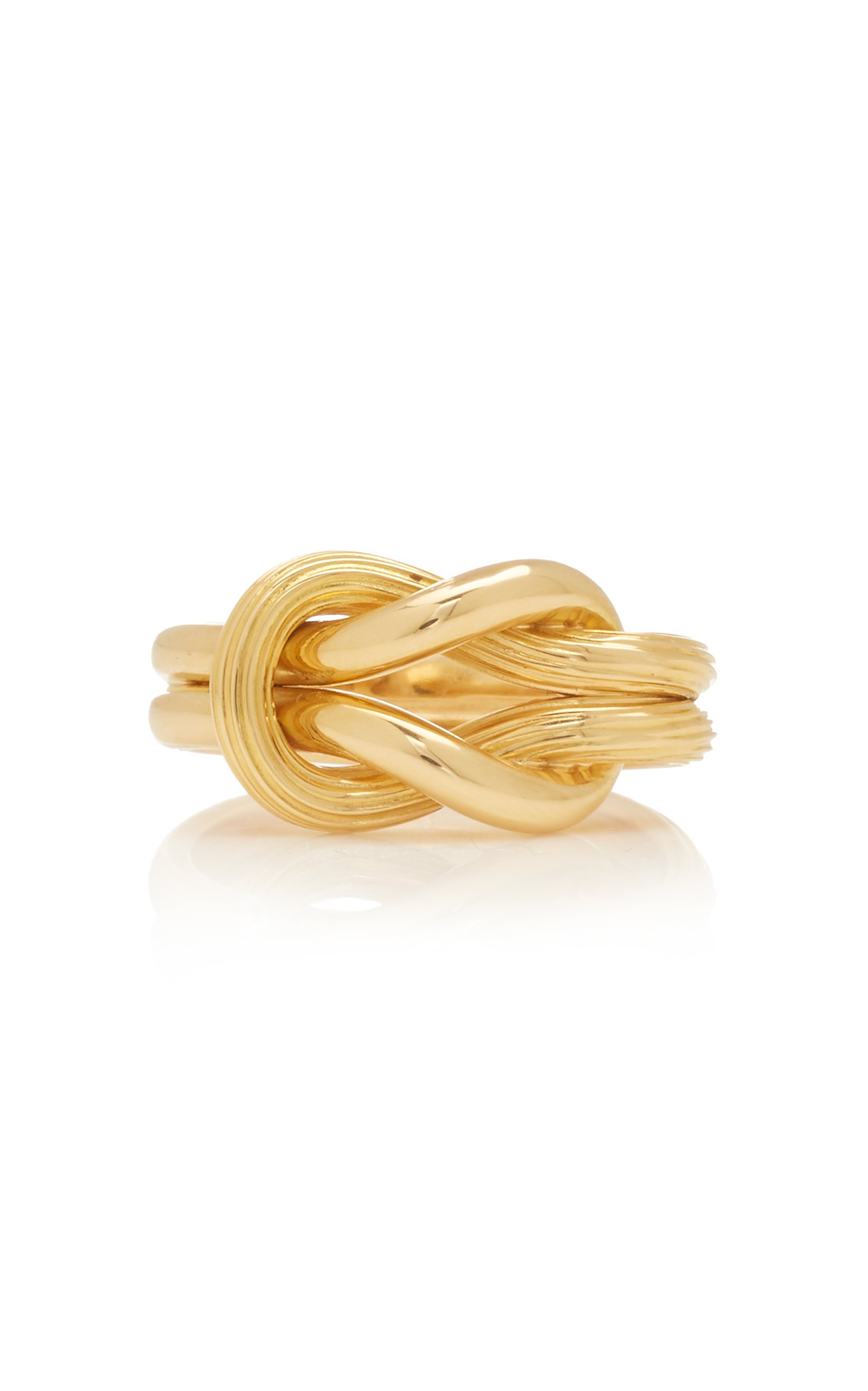 Ilias Lalaounis 18K Gold Hercules Knot Ring Size: 8