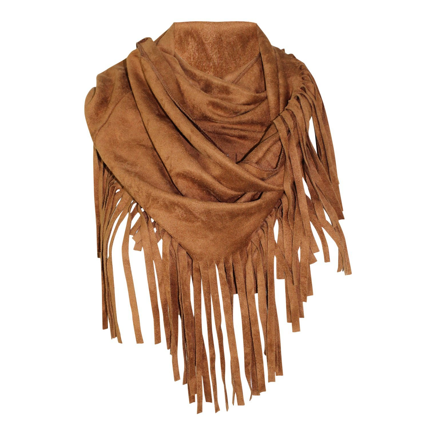 Private Label Fringe Suede Scarf | Muse Boutique Outlet – Muse Outlet