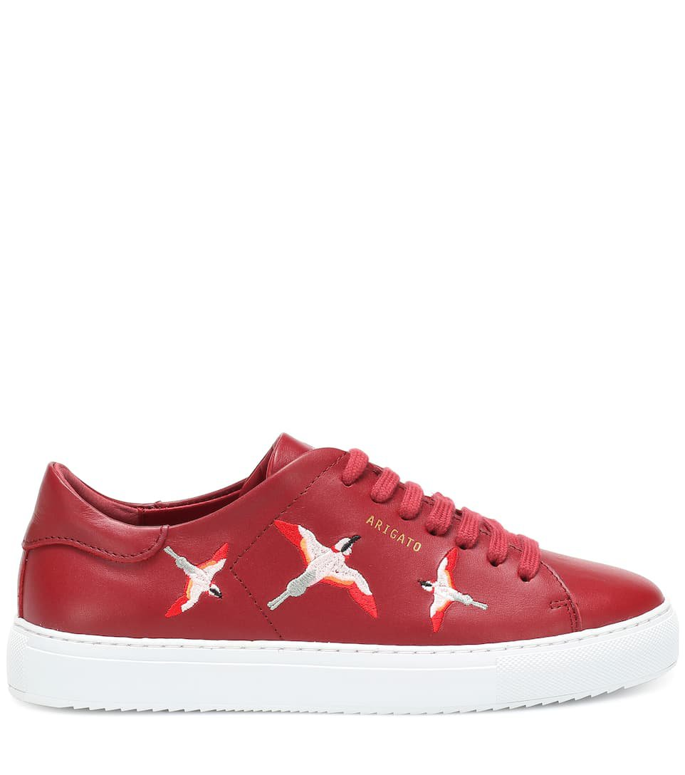 Clean 90 Bird Leather Sneakers   Axel Arigato - mytheresa.com