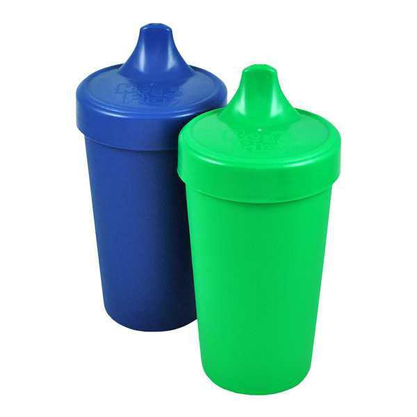 Blue and Green Sippy Cups