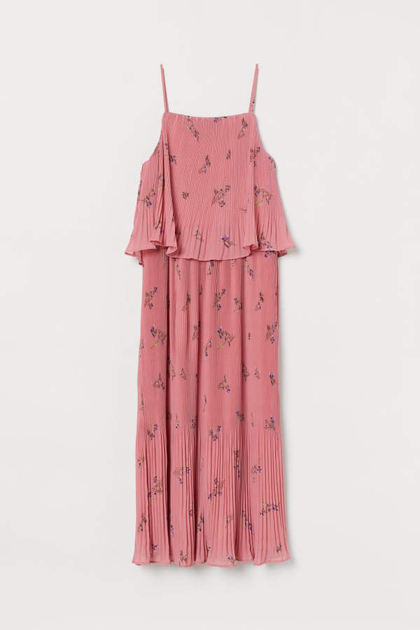 Pleated Dress - Pink