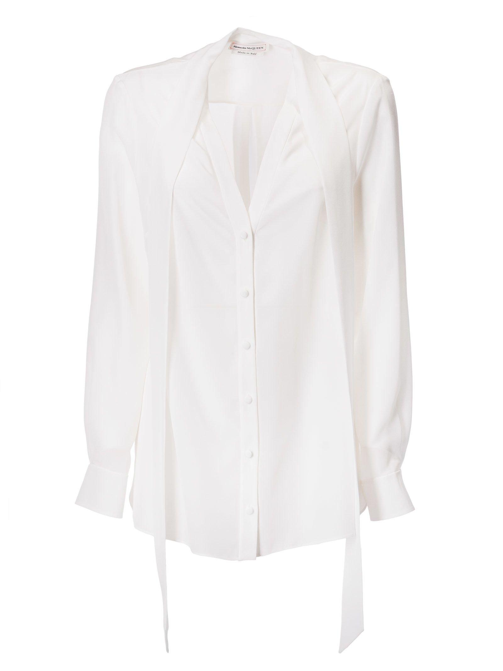 Alexander McQueen Buttoned Shirt