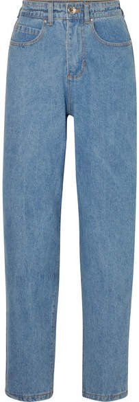 L.F.Markey - Johnny High-rise Tapered Jeans - Mid denim
