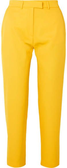 Twill Tapered Pants - Yellow