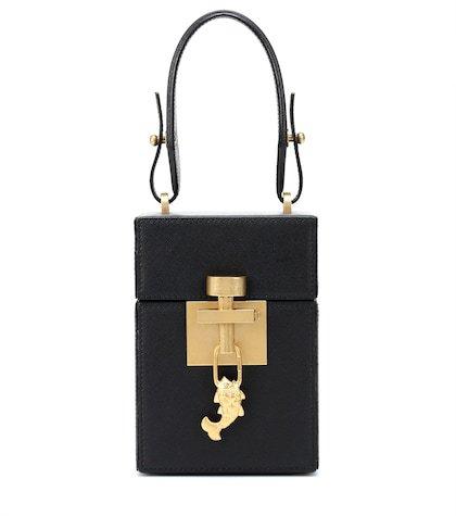 Alibi Mini leather tote