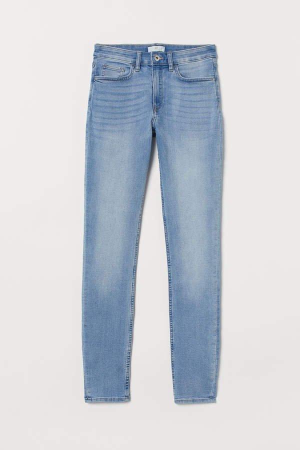 Slim-fit Pants - Blue