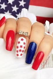 july 4th nails - Google Search
