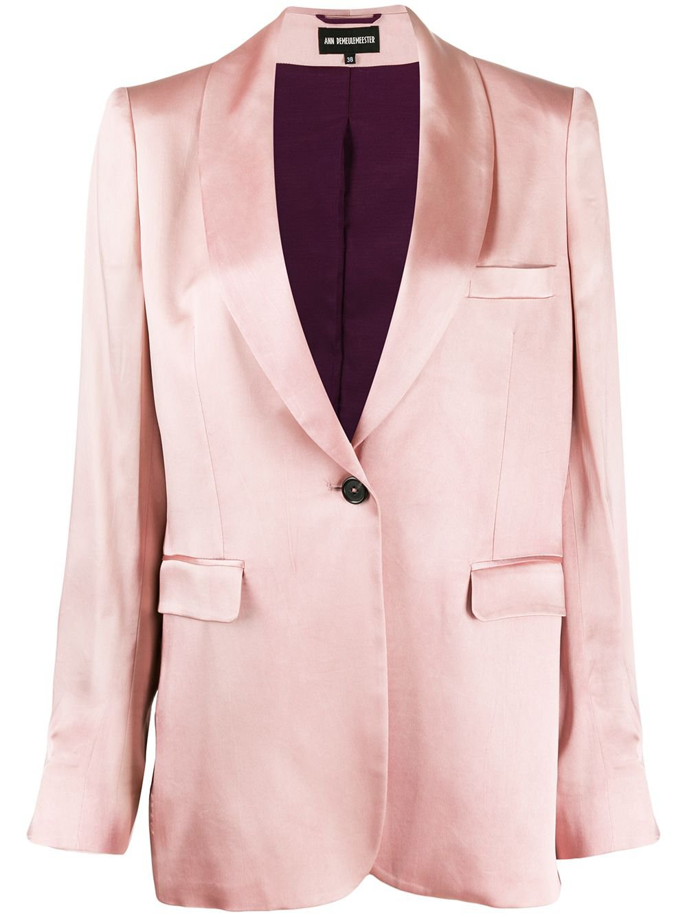 Ann Demeulemeester Single Breasted Blazer - Farfetch