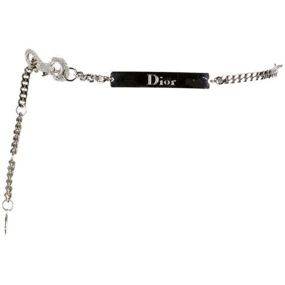 Pre-owned Christian Dior Belt