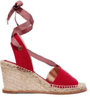 Roxane Suede Espadrille Wedge Sandals