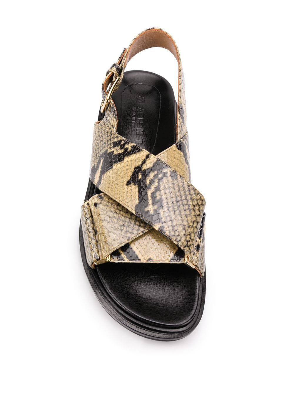 Marni Fussbett-sandaler - Farfetch