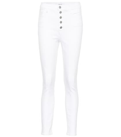 Lillie high-rise cropped jeans
