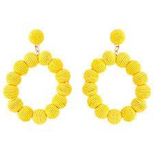 yellow earrings - Cerca con Google