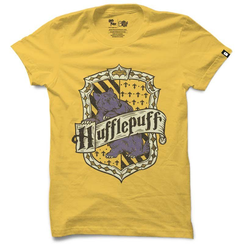 Hufflepuff | Harry Potter T-shirts | The Souled Store