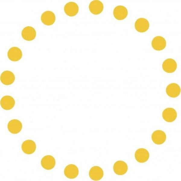 retro round circles border - Google Search