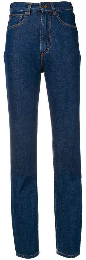 high waist skinny jeans