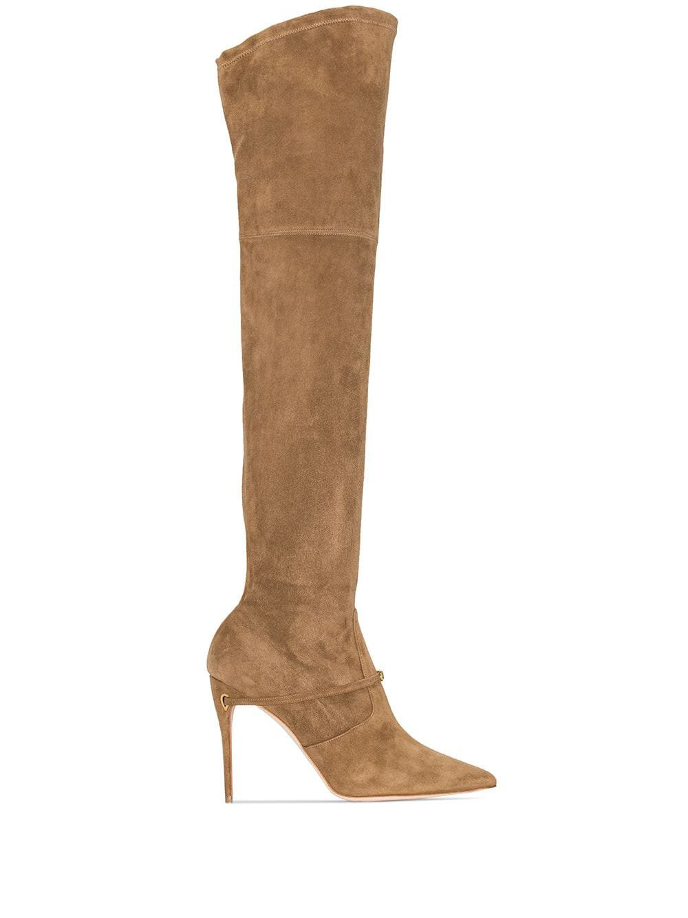 Jennifer Chamandi Alessandro over-the-knee Boots - Farfetch