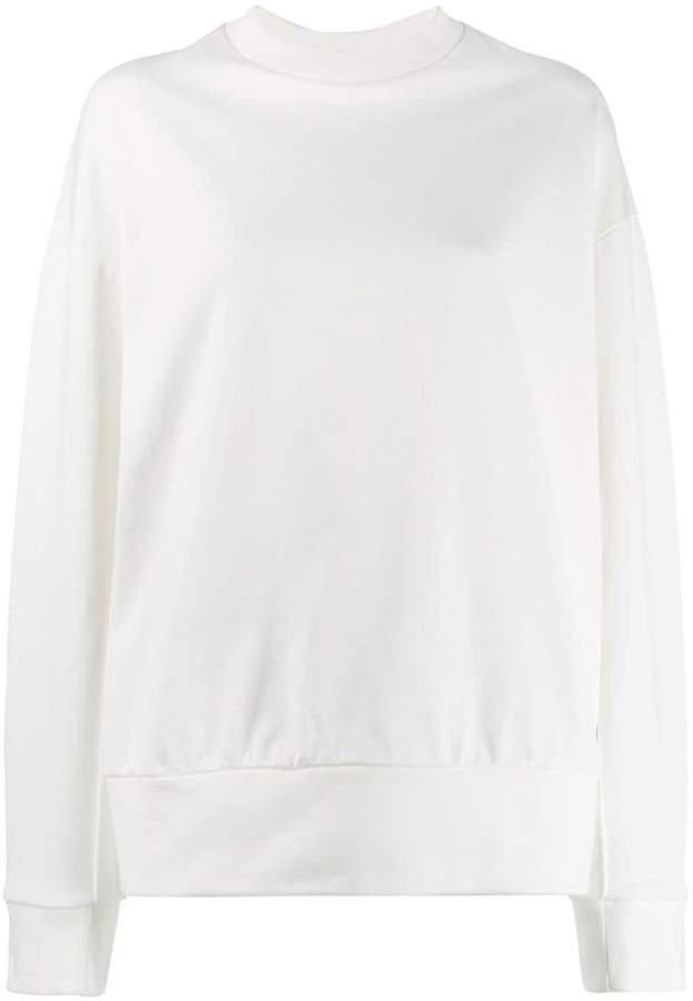 adidas signature graphic sweatshirt