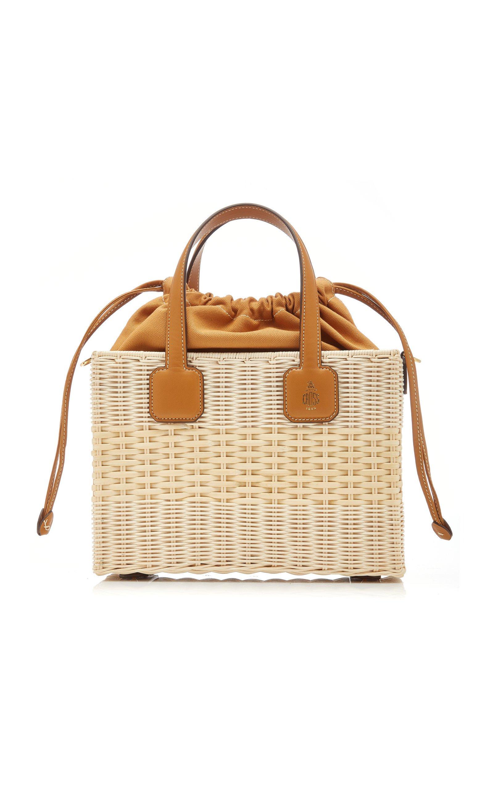 Mark Cross Manray Small Top Handle Bag