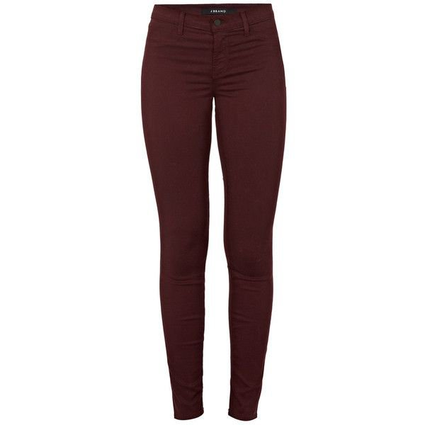 Maroon/Red Jeans