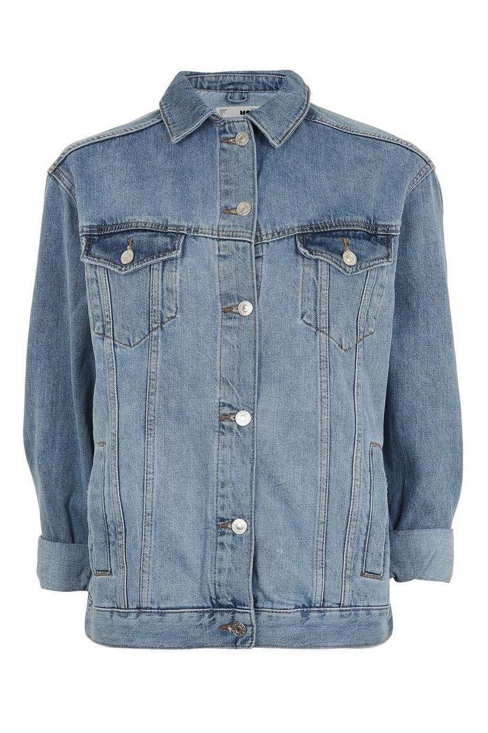 Oversized Denim Jacket | Topshop