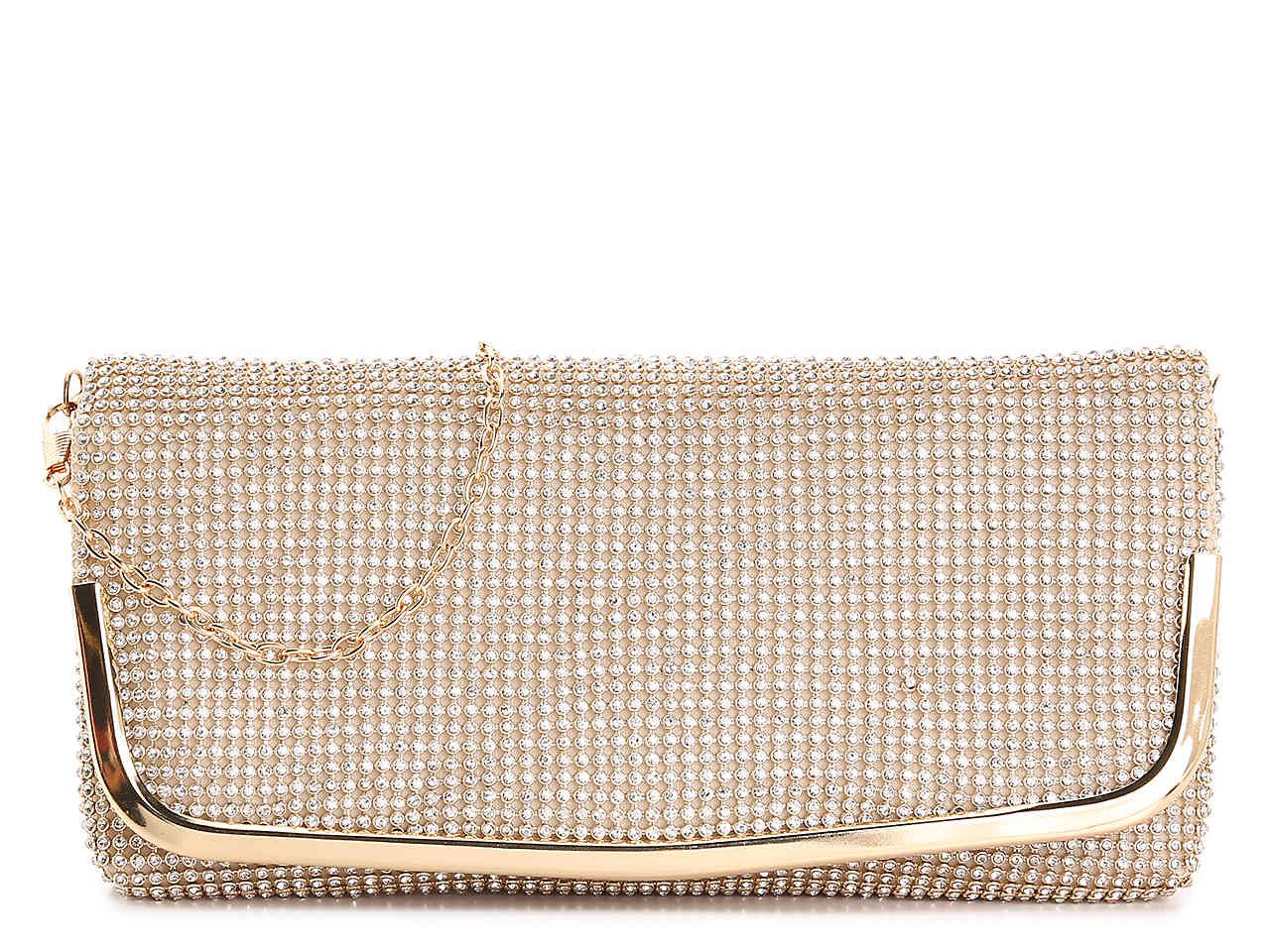Lulu Townsend All Over Stone Clutch Women's Handbags & Accessories | DSW