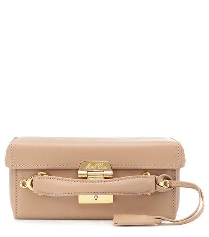Grace Small Box leather shoulder bag