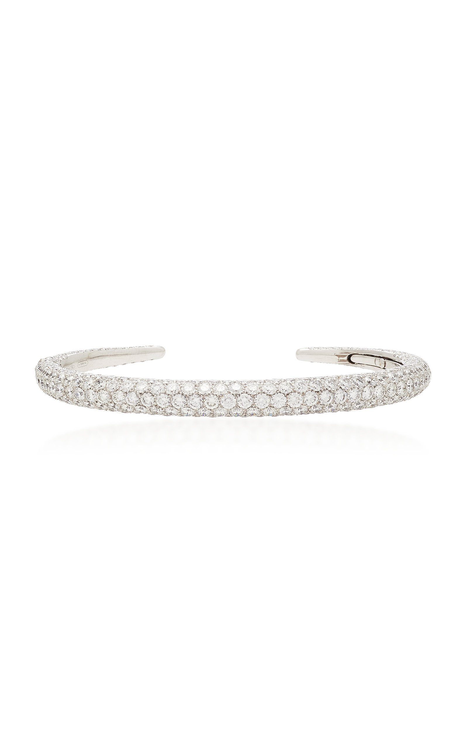 Busatti Piercing 18K White Gold And Diamond Bracelet