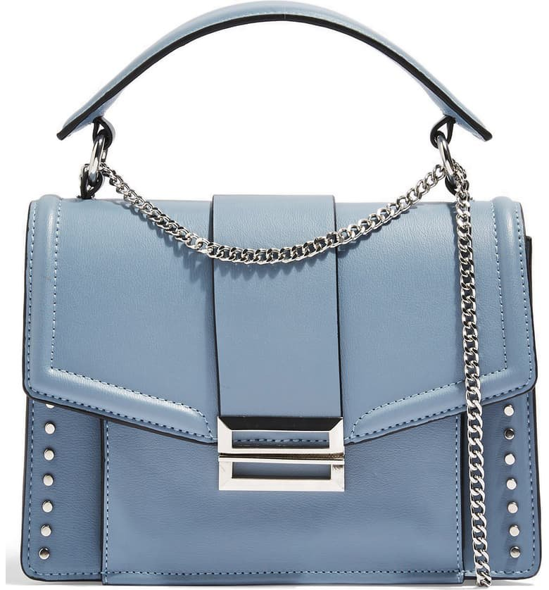 Topshop Cassie Faux Leather Shoulder Bag | Nordstrom