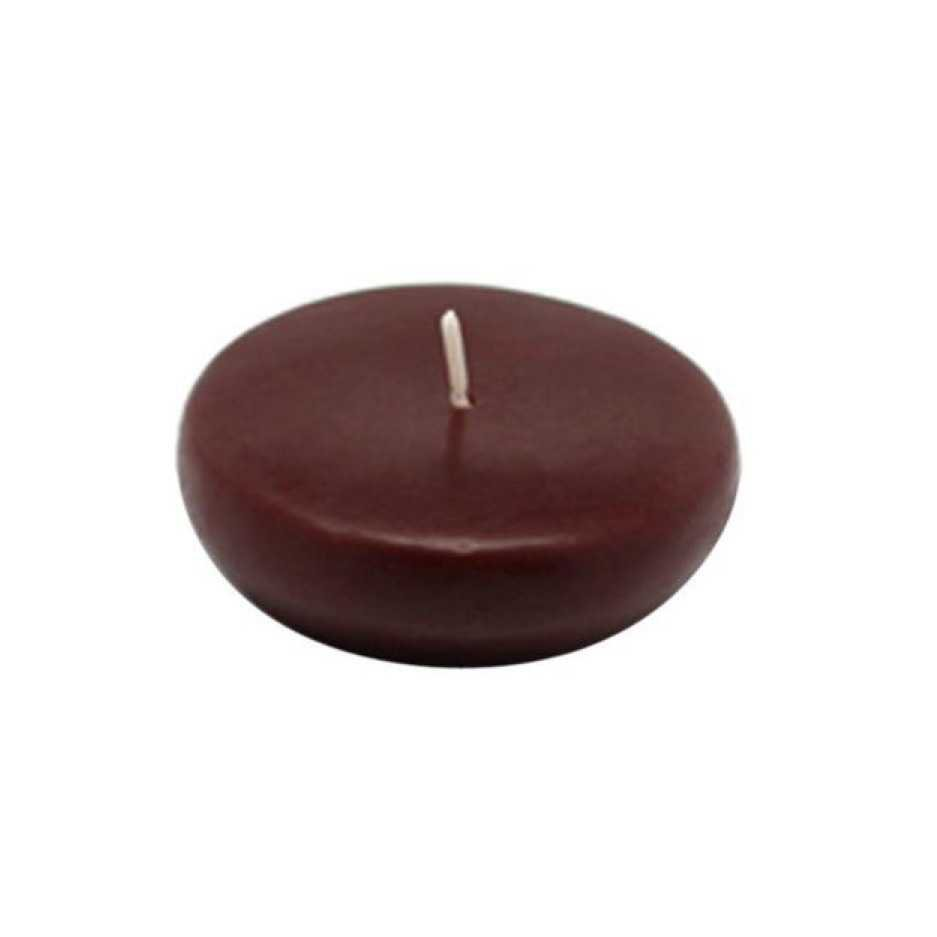 brown floating candle