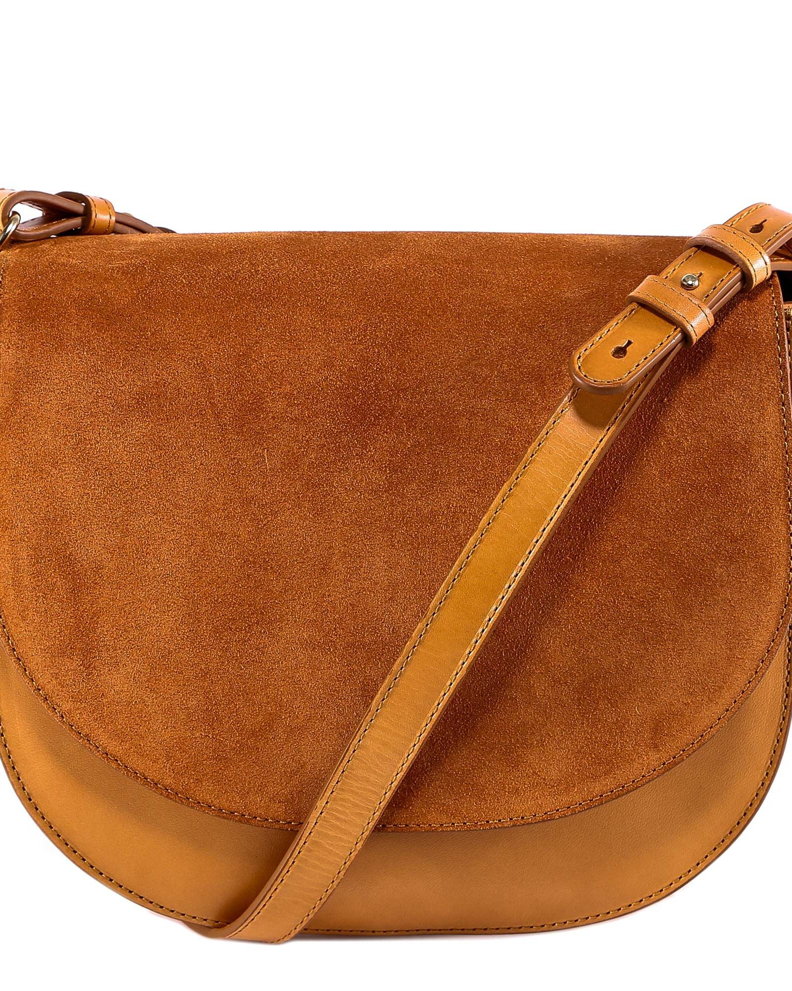 Closed Saddle Bag Shoulder Bag