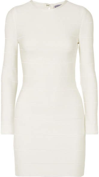 Bandage Mini Dress - White