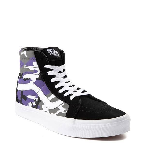 Vans Sk8 Hi Pop Camo Skate Shoe | Journeys