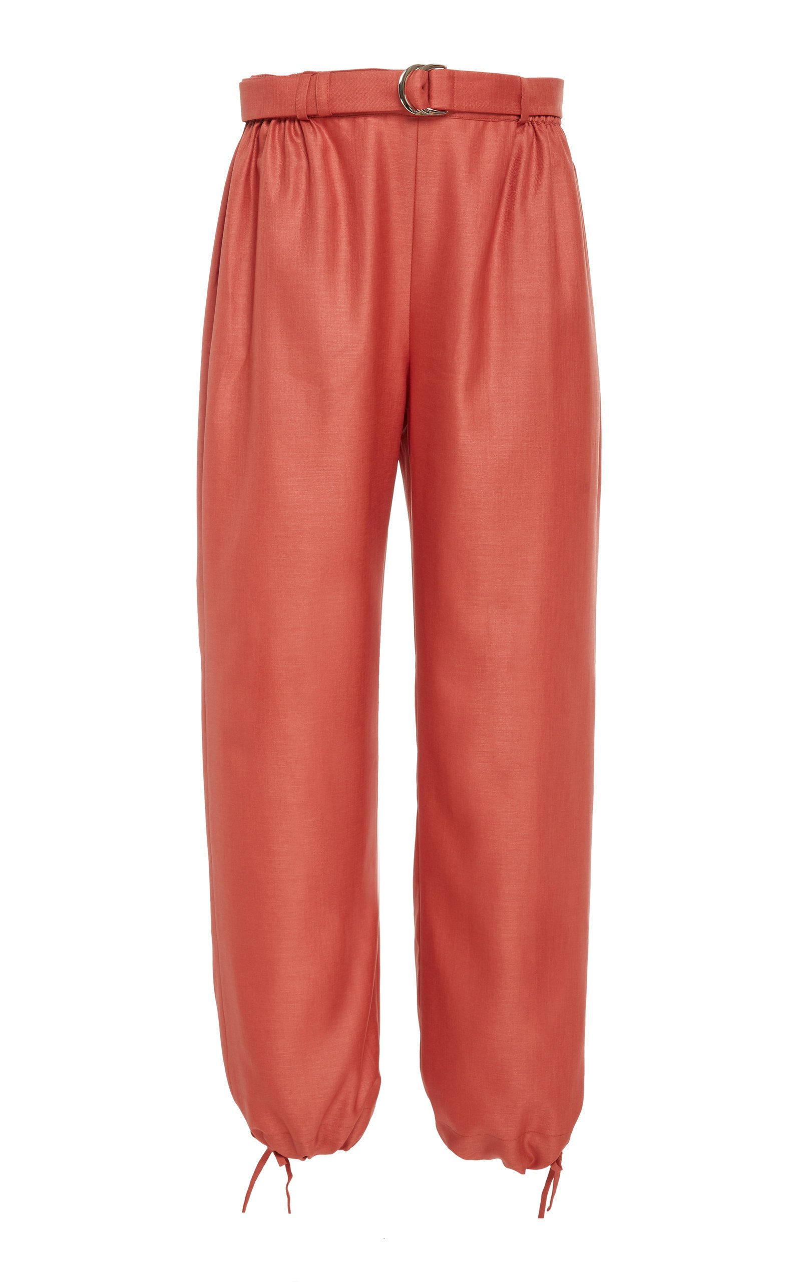Bouguessa Loose Tie-Up Pants Size: S