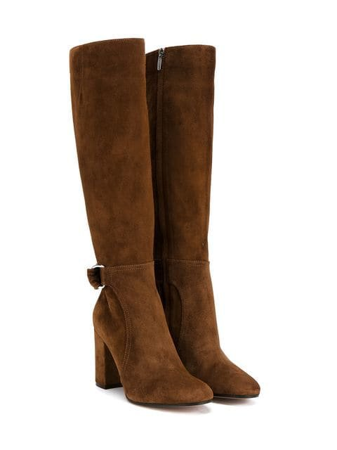 Gianvito Rossi side buckle boots