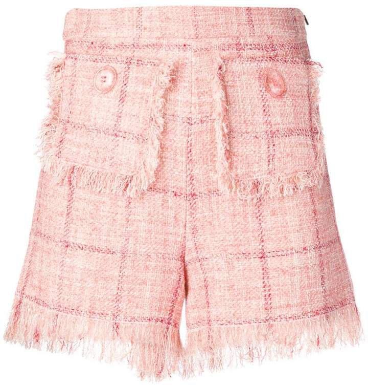 bouclé shorts