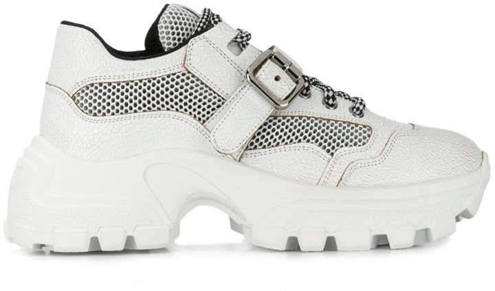 ridged chunky sneakers