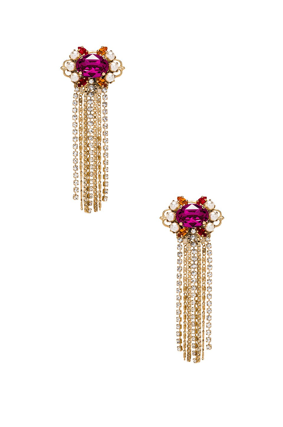 Cascade Cluster Earrings