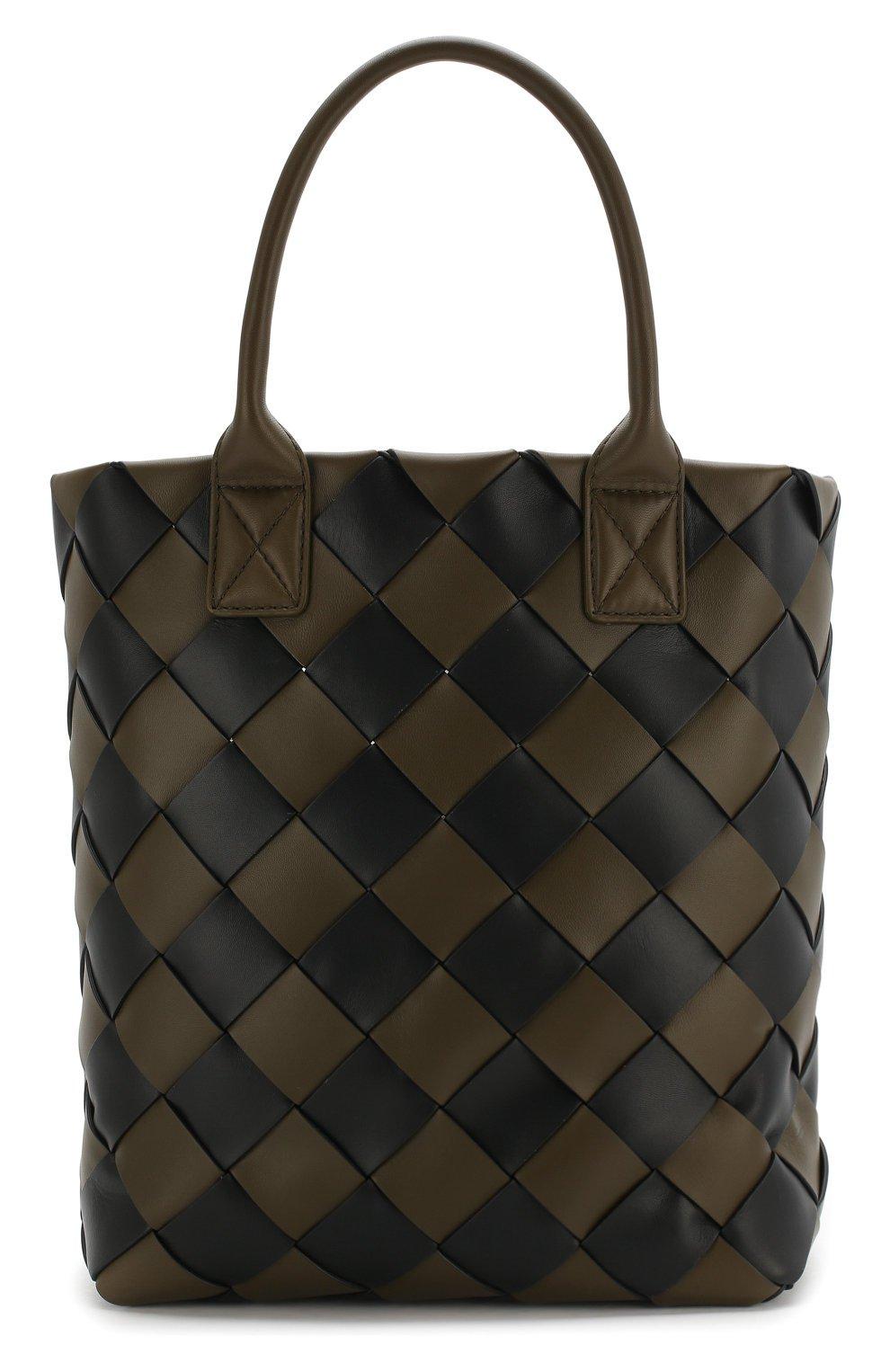Женская сумка maxi cabat 30 BOTTEGA VENETA зеленая цвета — купить за 262000 руб. в интернет-магазине ЦУМ, арт. 570800/VMAA0