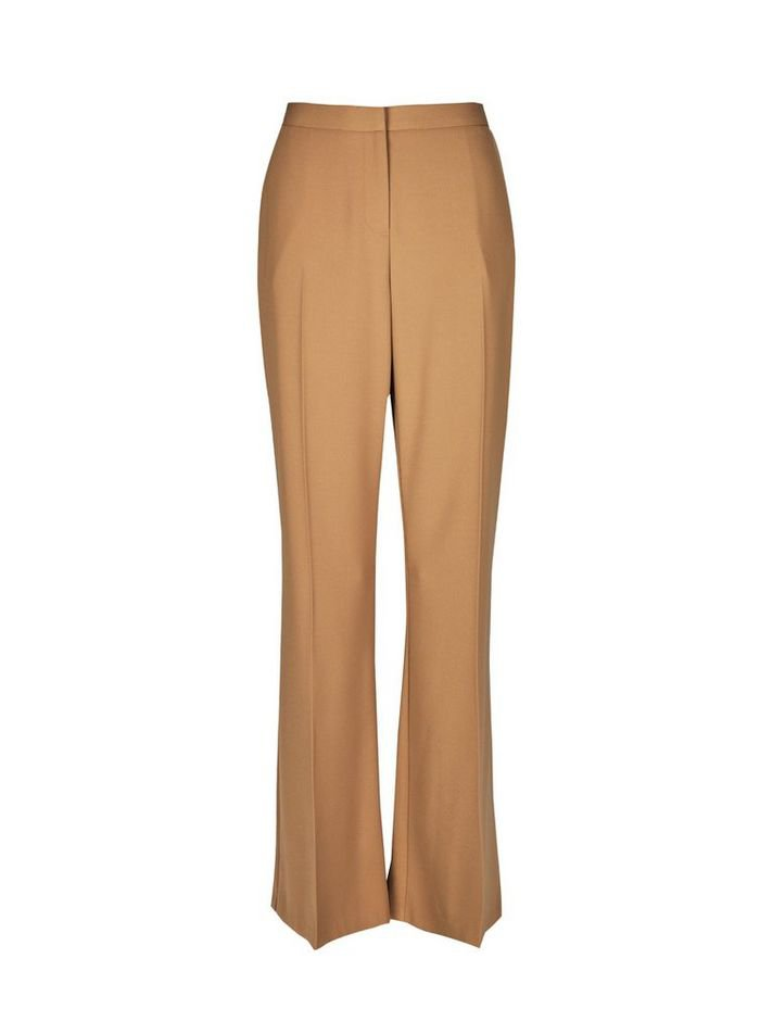 Camel Bootcut Trousers | Dorothy Perkins