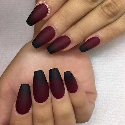 Amazing Matte Burgundy Shades Of Nail Polish You Must Try! – Watch out Ladies