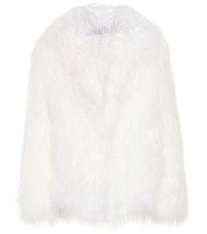 Exclusive to Mytheresa – Heart fur jacket