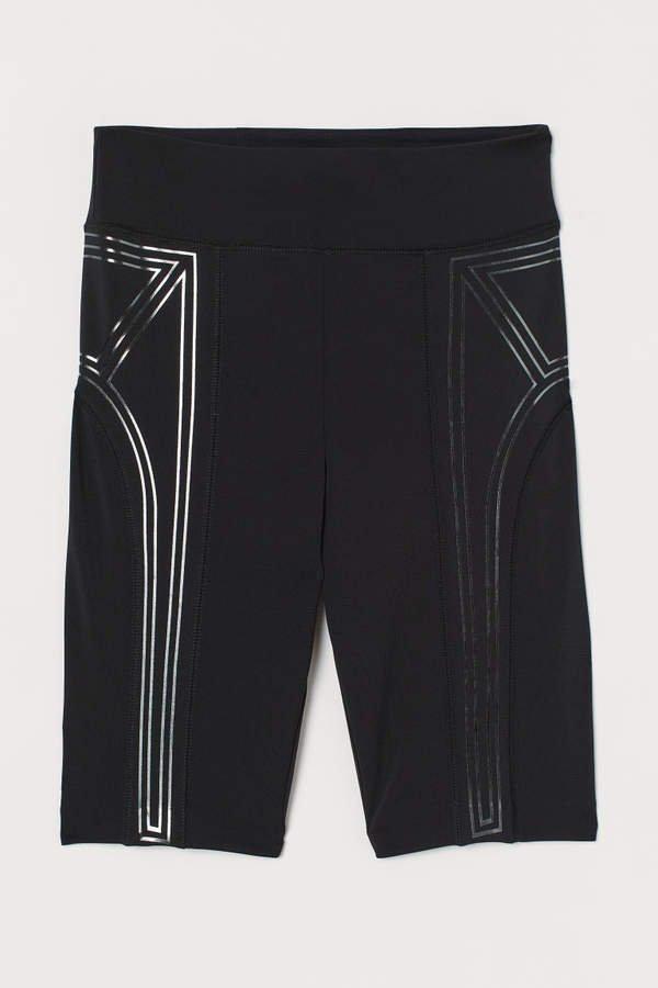 Thick Jersey Cycling Shorts - Black
