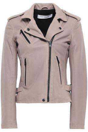 Leather biker jacket | IRO
