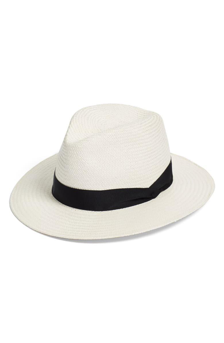 rag & bone Straw Panama Hat   Nordstrom