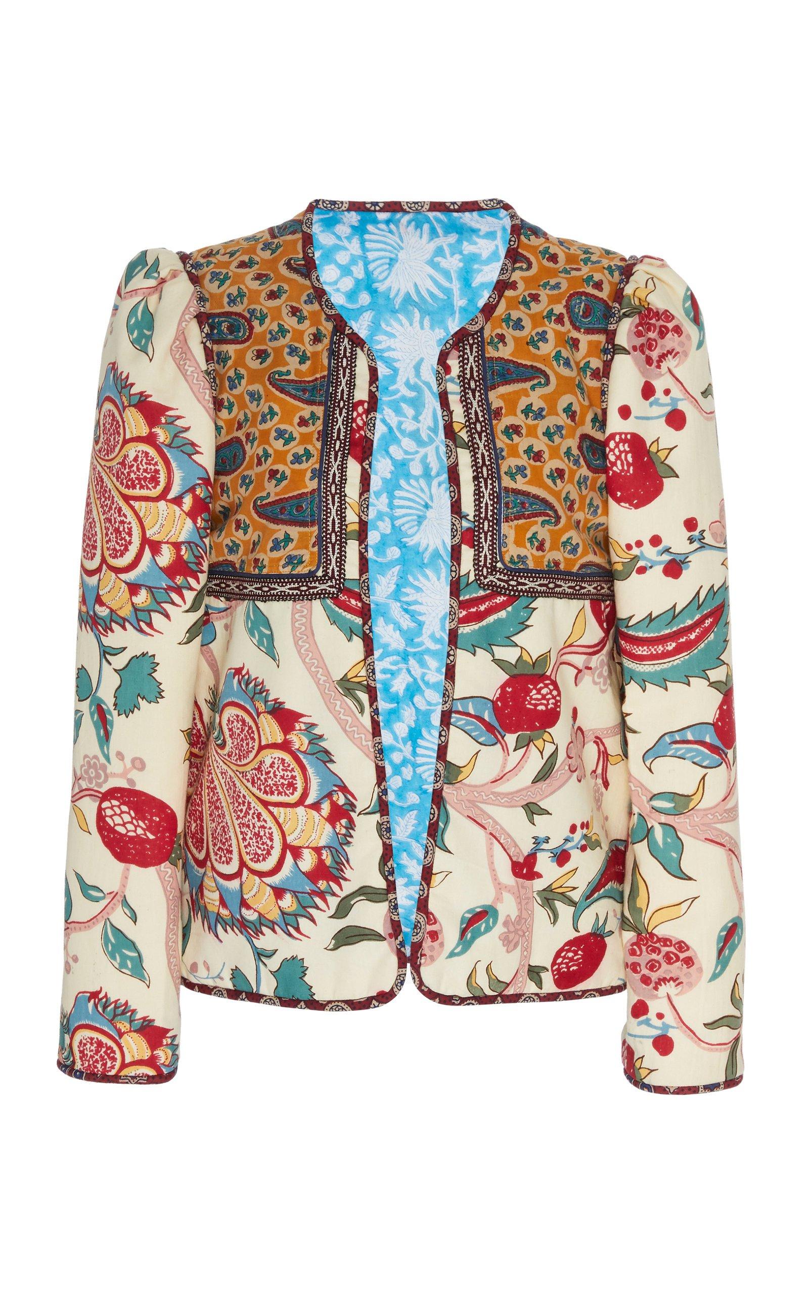 Alix of Bohemia Pomegranate Cotton Jacket Size: M