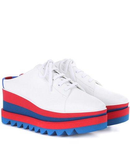 Sneak-Elyse platform sneakers
