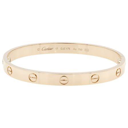 Love pink gold bracelet Cartier Pink in Pink gold - 7335648